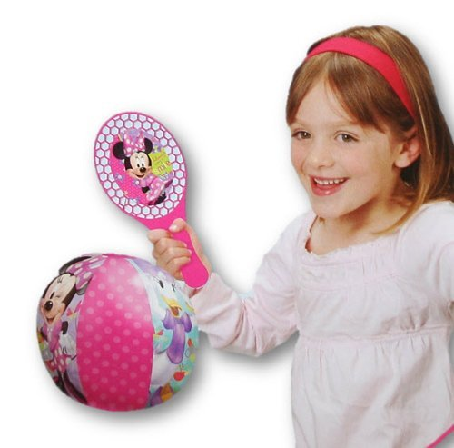 - Licensed Super Paddle Ball Combo (Minnie Mouse) by Dinsey Princess