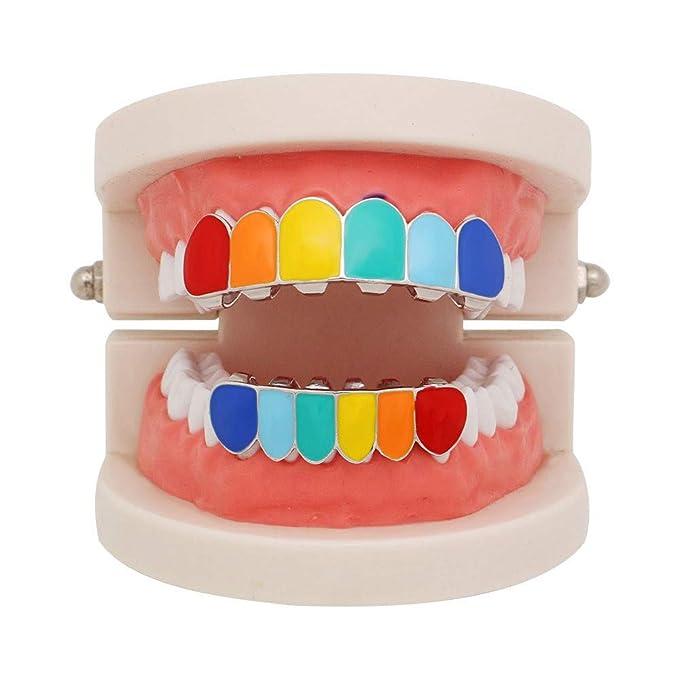 Amazon.com: ❤ MChoice❤ Juego de parrilla de dientes ...