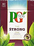 PG Tips The Strong One Pyramid Tea Bags (80 Bags) NEW by PG Tips For Sale
