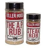 Killer Hogs Combo Pack - 12 Oz The AP Rub and 6.2 Oz Steak Rub