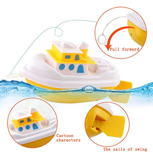 Livoty Clearance! Toddlers Kids Bathtime Fun Toys Cartoon Pull Bathing Wash Play Educational Toys - Wash Pull