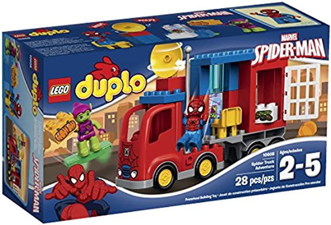 LEGO Duplo 10608 Spider-Man Spider Truck Adventure