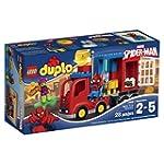 LEGO DUPLO Marvel Super Heroes Spider Man Spider Truck Adventure 10608 Preschool Pre Kindergarten Large Building Block Toys for Toddlers
