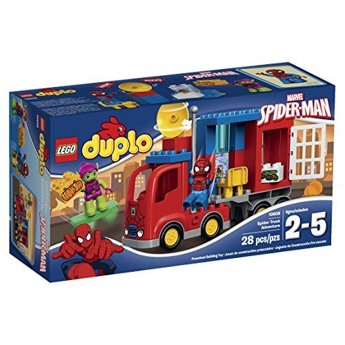 LEGO Super Heroes Spider-Man Spider Truck Adventure Building Kit