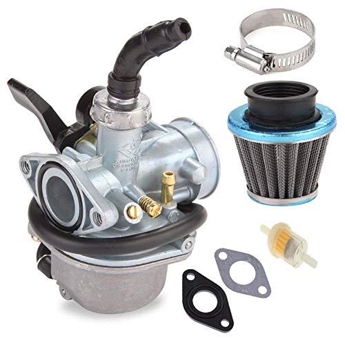 (PZ19 Carburetor with 35mm Air Filter Fuel Filter for Taotao 50cc 70cc 90cc 110cc 125cc Dirt Bike ATV Scooter Moped)