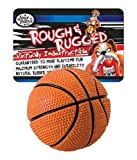 Four Paws Rubber Basketball with Bell, 2.75-Inch, My Pet Supplies