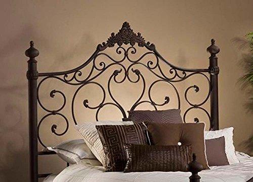 Hillsdale Furniture Baremore Headboard - Queen - w/Rails Antique Brown