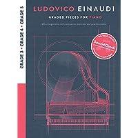 Ludovico Einaudi - Graded Pieces for Piano: Grades 3-5 Bk/Online Audio