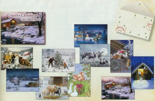 Country Leanin' Tree Christmas Card Assortment ()