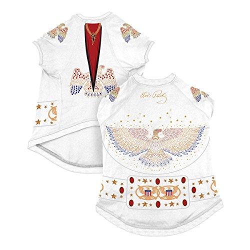 Elvis presley dog t shirt jumpsuit funtober for Elvis t shirts wholesale