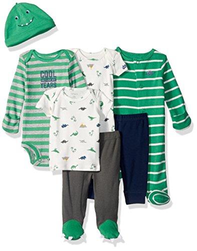 Carters Baby Boys 7 Piece Bodysuit