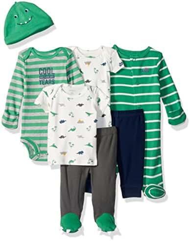 Carter's Baby Boys' 7-Piece Bodysuit Set