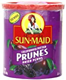 Sun Maid California Pitted Prunes, 14-ounce Canisters (Pack of 2)