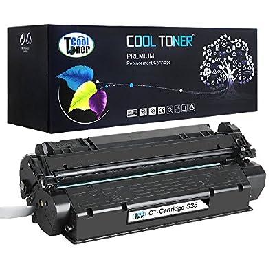 Cool Toner 1 Pack Compatible Canon S35 S-35 Cartridge 7833A001AA Black Toner Cartridge For Canon imageClass D300 D320 D340; FAXPHONE L170; imageClass MF3240; PC-D320 D340 Printer