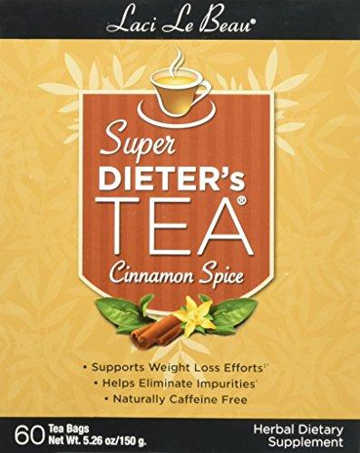 Laci Le Beau Super Dieters Tea (Laci Le Beau Super Dieter's Tea Cinnamon Spice -- 60 Tea Bags)