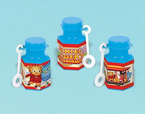 Amscan Mini Bubble Favor | Daniel Tiger's Neighborhood | Party Accessory]()