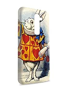 Case Fun Case Fun Alice in Wonderland White Rabbit Snap-on Hard Back Case Cover for LG G2