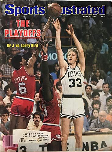 Larry Bird Unsigned Sports Illustrated Magazine April 28 1980