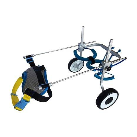 MLMCWCJ Ciclomotor con discapacidad para Perros, Mascota de Edad Avanzada Scooter de Mierda con discapacidad