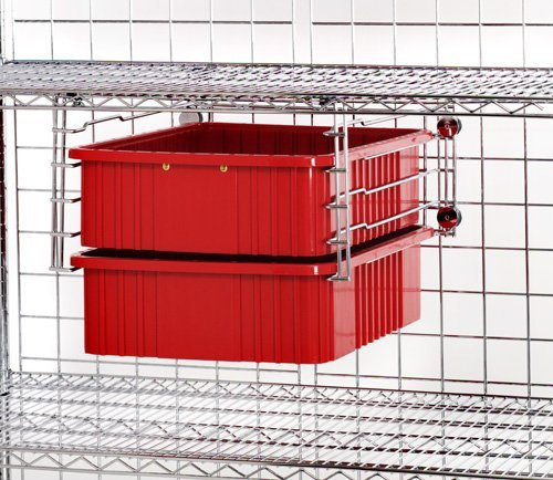 Review Quantum Storage Systems DDS-24 Drawer Slide for Wire Shelving Units, By Quantum Storage Systems by Quantum Storage Systems