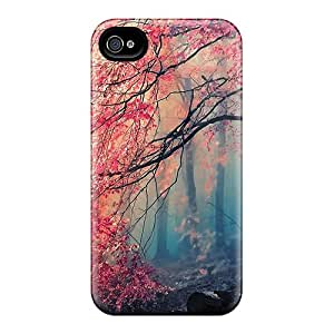 ZhiqiangYao Shockproof Scratcheproof Gorgeous Forest Colors In Autumn Hard Cases Covers For Iphone 6