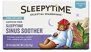 Celestial Seasonings Wellness Tea, Sleepytime Sinus Soother, 20 Count