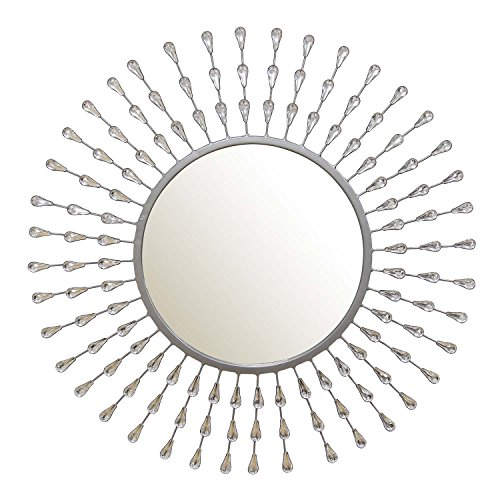 Small Teardrop Mirror (Stratton Home Decor SHD0247 Melissa Tear Drop Mirror)