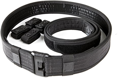 5.11 Tactical Men's 1.63-Inch Nylon Sierra Bravo Duty Belt, Water-Resistant Finish, Style 59508