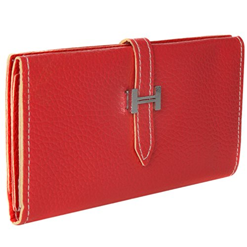 A5 J3 Pro Prime for Universal Samsung Wallet Clutch J5 S8 S9 J7 Purse Red Galaxy J7 6q678w1xB