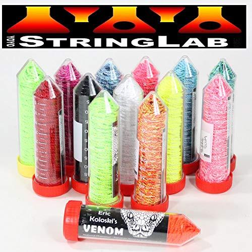 String Lab YoYo Venom Yo-Yo Strings - Medium Thickness - 10 Pack (Roasted Peppers (Yellow/Orange/Red))