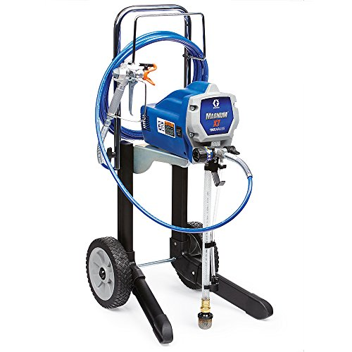 Graco Magnum 262805 X7 Cart Airless Paint Sprayer (Wagner 2 Step Pro Duty Power Painter)