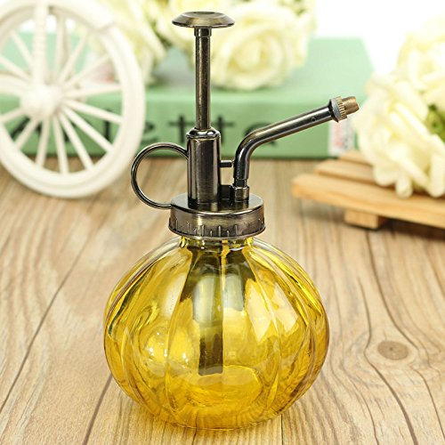 JUJU MALL-Antique Glass Plant Flower Watering Pot Spray Bottle Garden Hairdressing - New Jersey Garden Mall