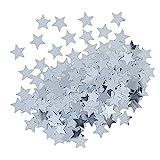 Metallic Silver Star Confetti, 0.5oz , 1ct