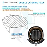 Air Fryer Rack Accessories Compatible with Paula