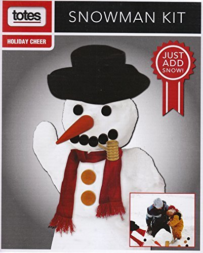 Totes Complete Snowman Kit - Just Add (Snowman Accessory Kit)