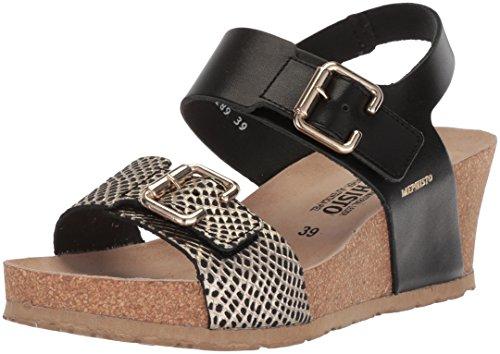 Black Zapatos Mujer Mephisto Sandalias Lissandra Negro 6zBnx