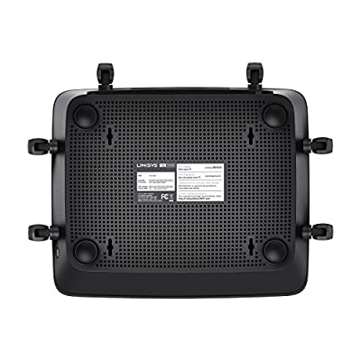 Linksys Max-Stream AC4000 MU-MIMO Wi-Fi Tri-Band Router (EA9300)