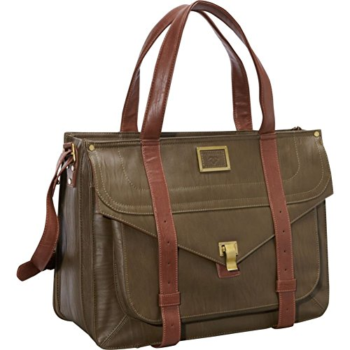 Ladies Briefcase Green (Women In Business 15.6