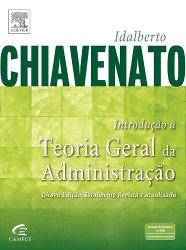 Introdução a Teoria Geral da Administração