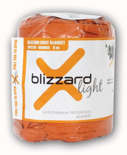 Blizzard Light - Hypothermia Prevention Bag - Orange