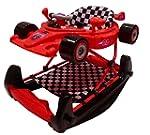 Racing car baby walker / rocker - red...