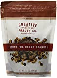 Creative Snacks Bountiful Berry Granola Clusters, Great for Snacking or Cereal, 12 ounce bag