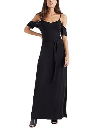 LIPSY Womens Jersey Maxi Dress Black US 0 (UK 4)