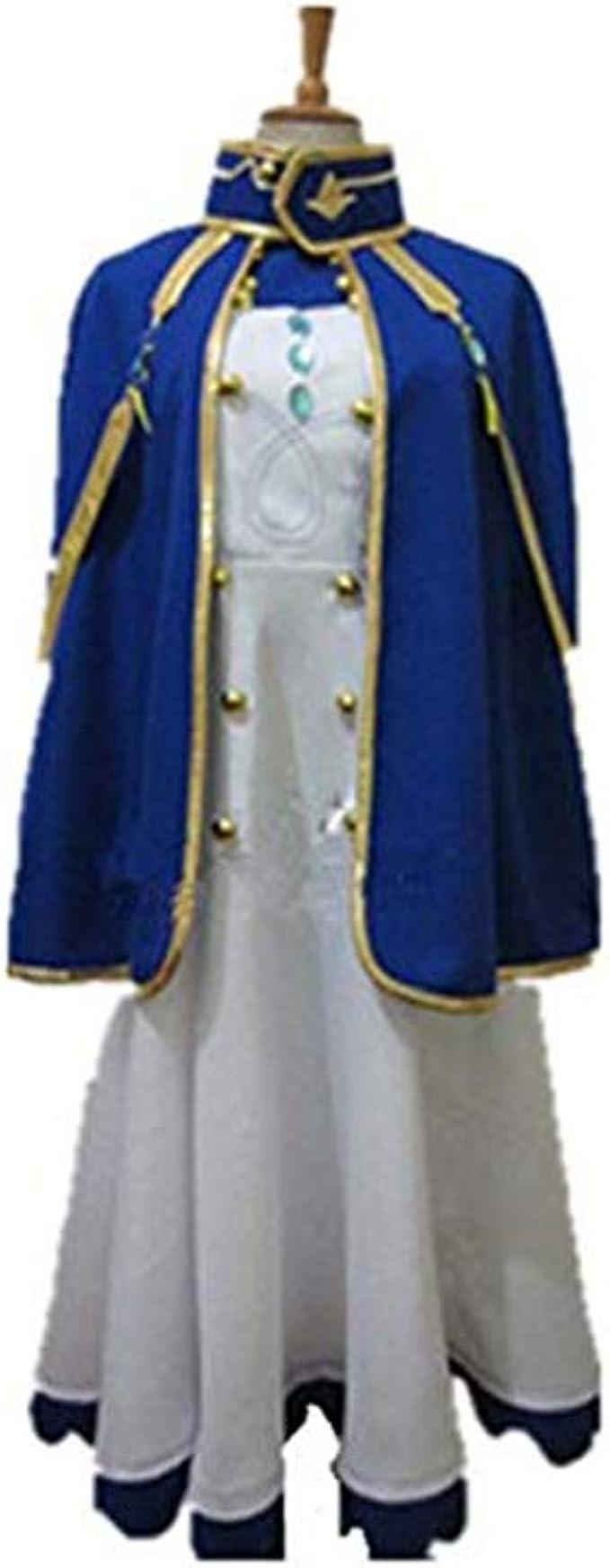 Anime Akagami no Shirayukihime Shirayuki Chemist Uniform Cosplay Dress
