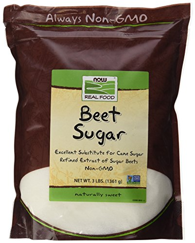 Price comparison product image NOW Foods Beet Sugar,  3-Pound