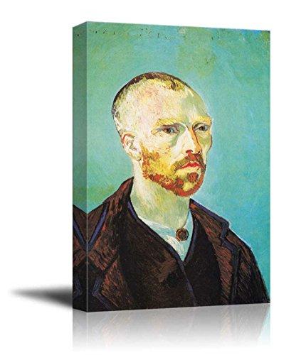 Self portrait dedicated to Paul Gauguin by Vincent Van Gogh Print Famous Painting Reproduction