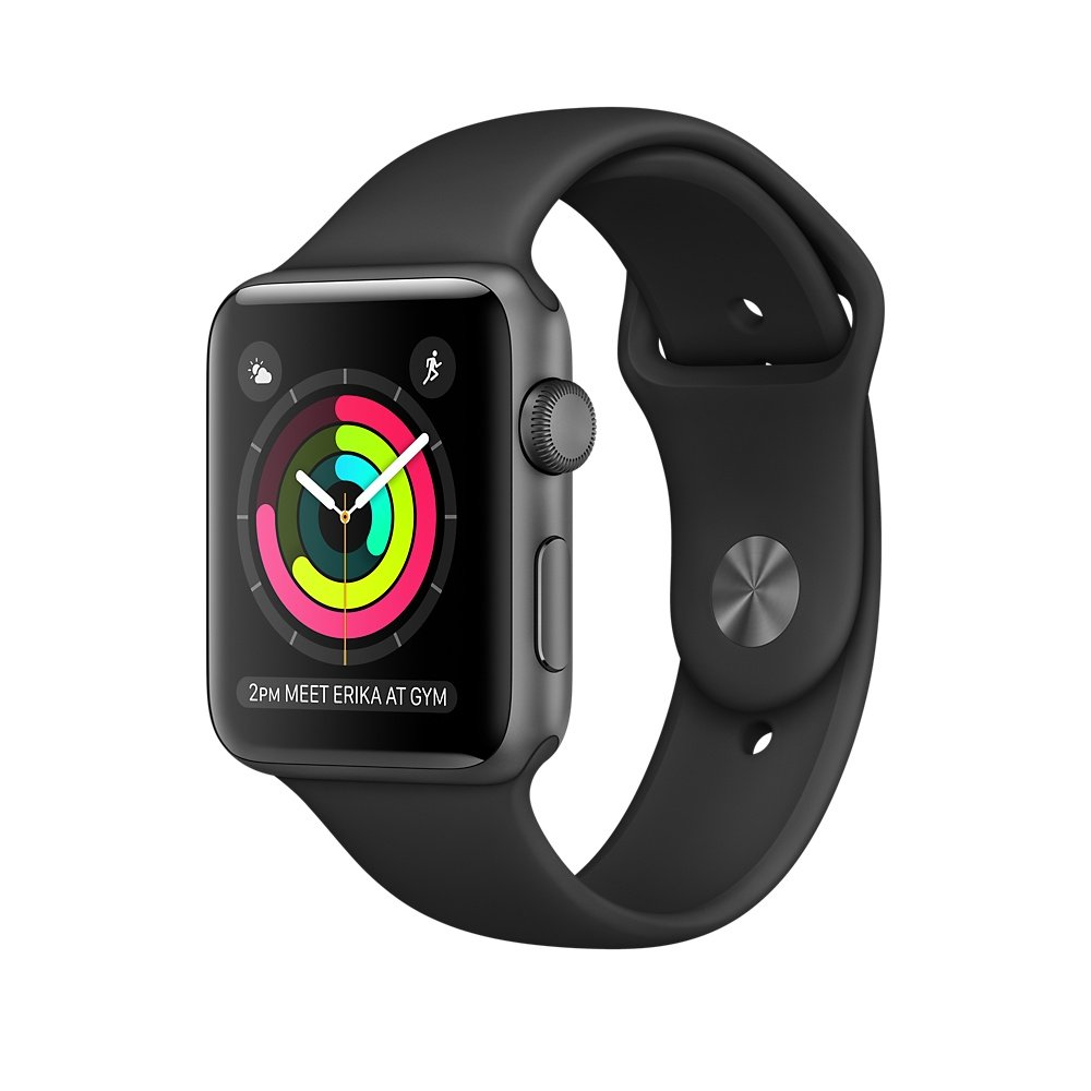 Apple Watch Series 2 Space Gray Aluminum..