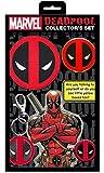 Application Marvel Extreme Deadpool Collector's Set (B MVL 0010, K MVL 0013, P MVL 0007, S MVL 0017, S MVL 0030 M)
