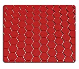 MSD Natural Rubber Gaming Mousepad IMAGE ID: 35199563 Abstract honeycomb background 3d illustration or backdrop