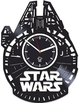 Amazon.com: Reloj de pared de discos de vinilo, kovides, el ...